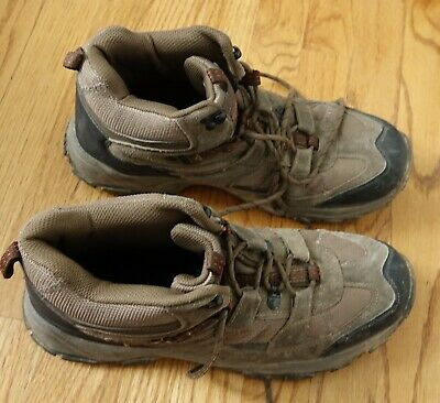 b1dd1950e27 MAGELLAN OUTDOORS BROWN Size 10 Leather Men's Hiking Boots - $42.29 ...