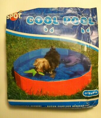 """Spot Cool Pool For Dogs 31""""Diam X 8""""H 100% Pvc New"""