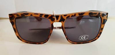 Men`s New Vans Sunglasses Tortoise Squared Off
