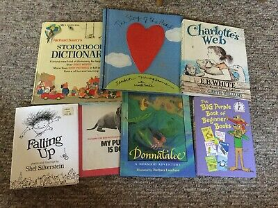 Lot of 7: Childrens Reading Bedtime-Story Time Books