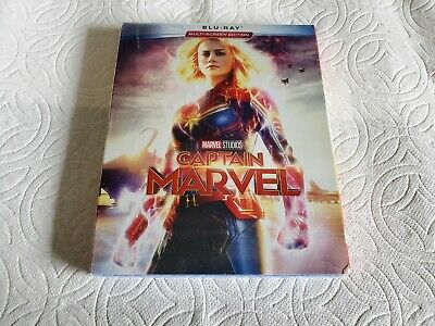 Captain Marvel (Blu-Ray, 2019) Brand New Free Shipping!