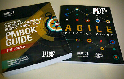 PMI PMBOK Guide 6th Edition 2018 + Agile Practice Guide 👍🏻 PDF High Quality 👍