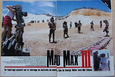 Clippings Press / Mel Gibson Mad Max III / 12 Pages / in 1985 / Ref. 67987