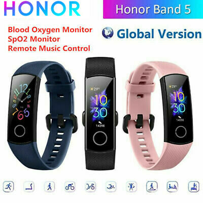 "HONOR Band 5 0.95""Fitness Bracelet Sleep Data Heart Rate Monitoring 5ATM Multi"