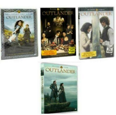 Outlander The Complete Series Season 1-4 ( DVD, 2019, 17-Disc Box Set ) NEW!!