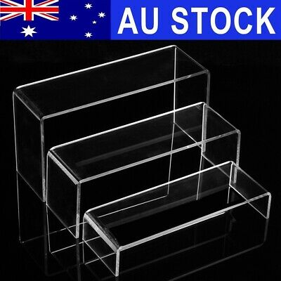 3/9/50Pcs Transparent Acrylic Shoe Display Stand Jewellery Rack Organiser Holder