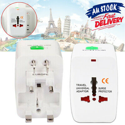 All in One AU/UK/US/EU Power Charger Travel International RT Universal Adapter