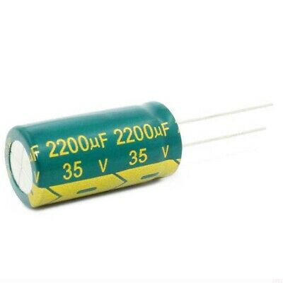 2200uf 35v 105c LOW ESR Size 35x12.5mm Panasonic EEUFR1V222L x2pcs