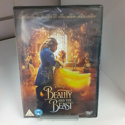 Beauty And The Beast Live Action DVD - New and Sealed Fast and Free Delivery