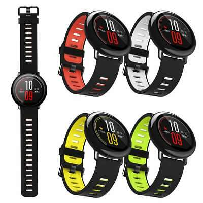 22mm Silicone Band Bracelet For Xiaomi Huami Amazfit Stratos Pace Sports Watch