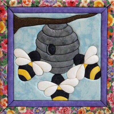 Quilt-magic No Sew Wall Hanging Kit-beehive