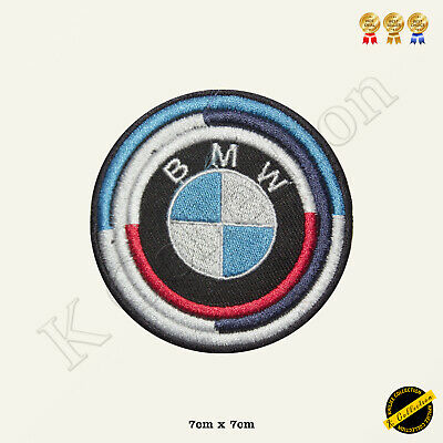 BMW Logo Racing Sponsor Car Band Embroidered Iron On/Sew On Patch Badge