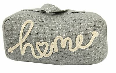Rectangle Grey Home Doorstop - Fabric Door Stop