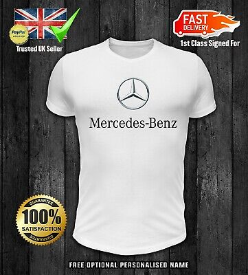 Mercedes Benz Printed T Shirt Motorsport Racing Gift Mens Adults