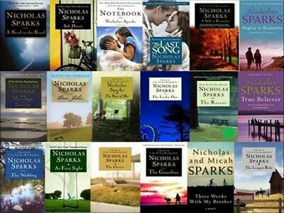 Nicholas Sparks novels collection PDF MOBI Version Price was 5.99 Now 3.99
