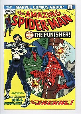 Amazing Spider-Man #129 Vol 1 Almost PERFECT High Grade 1st App of the Punisher