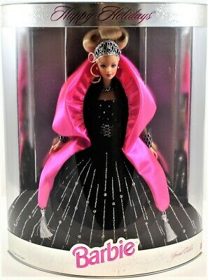 Barbie Special Edition 1998 Happy Holidays Doll #20200 Free Shipping