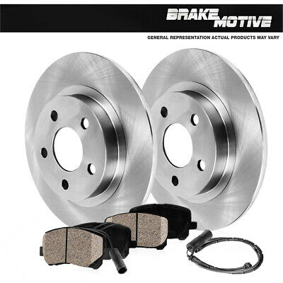 For Mercedes Benz ML430 ML500 W163 Front+Rear Disc Brake Rotors /& Ceramic Pads