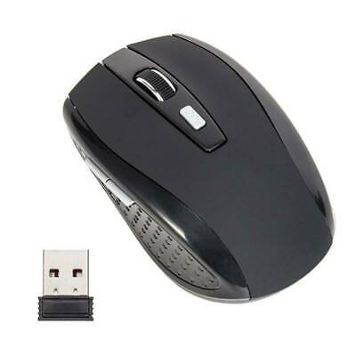 2.4GHz Wireless Optical Mouse Adjustable DPI Cordless Mice + Receiver for Laptop