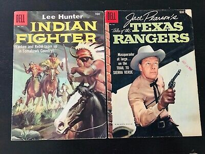 Indian Fighter #779 & Tales of the Texas Rangers #961 (2)Comics