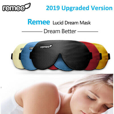 Sleep Mask LED Smart Lucid Dream Machine Maker Patch Masks Rest Relax Eyes Gift