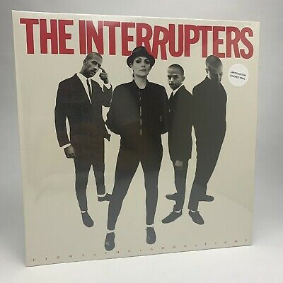"The Interrupters - Fight the Good Fight LTD Coloured Vinyl Record 12"" Album New"