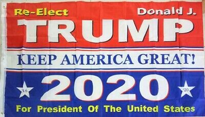 Wholesale: Trump 2020 Election 3' x 5' Ft Flag - Keep America Great. Sale in Dz