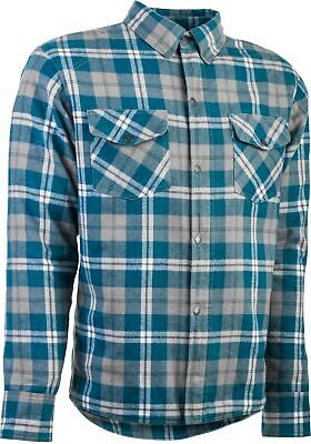 Highway 21 Marksman flannel grey/blue 4XL _ 6049 489-1182~8