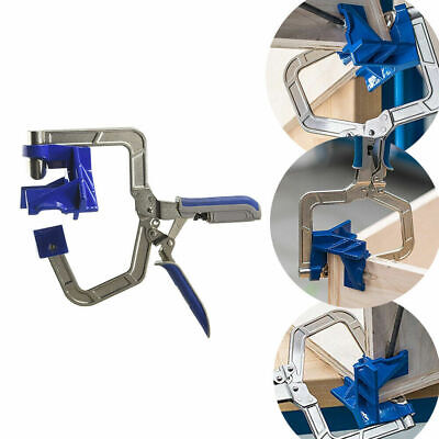 New 90 Degree Right Angle Kreg KHCCC 90 Corner Clamp Woodworking Clamping Kit W9