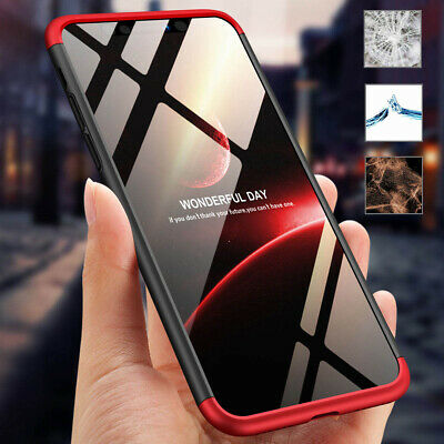 For Apple iPhone XS Max XR 360° Defense Ultra-Thin Hybrid Shockproof Rugged Case