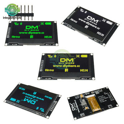 """RGB/White 2.42"""" OLED LCD Display SSD1309 128x64 SPI Serial Port For Arduino C51"""
