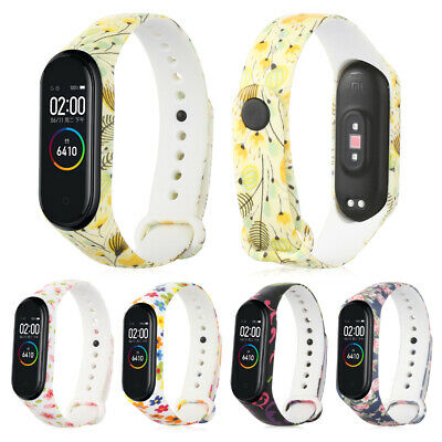 💙Colorful Camouflage Silicone Watch Band Bracelet Strap For Xiaomi Mi Band 4 3~