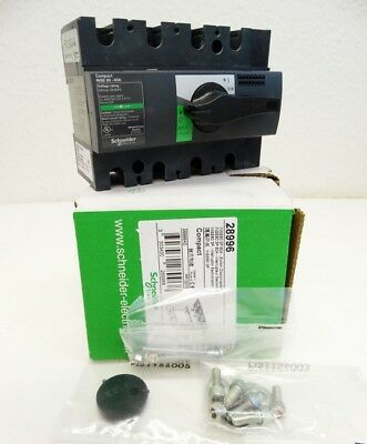 Schneider INSE60 3P 60A  INSE603P60A 28996 Switch Disconnector -unused/OVP-