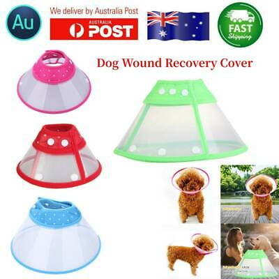 Pet Dog Cat Elizabethan Collar Wound Healing Medical Recovery Cone Protector
