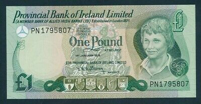 Northern Ireland: Provincial Bank of Ireland 1-1-1979 £1. P247b UNC Lt handling