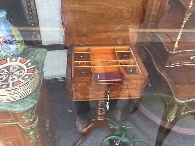 Stunning Victorian Sewing Table