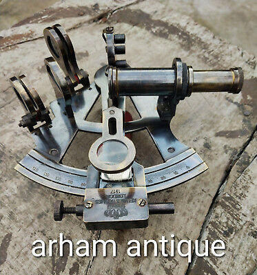 Navigation Astrolabe Working Sextant Marine Maritime Collectable Sextant