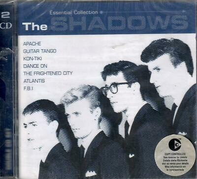 THE SHADOWS - ESSENTIAL COLLECTION UK INSTRO ROCK 36-TRACK 60s COMP SEALED 2-CD