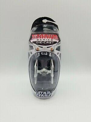 2005 Hasbro STAR WARS TITANIUM SERIES Die-Cast TIE FIGHTER Micro Machines