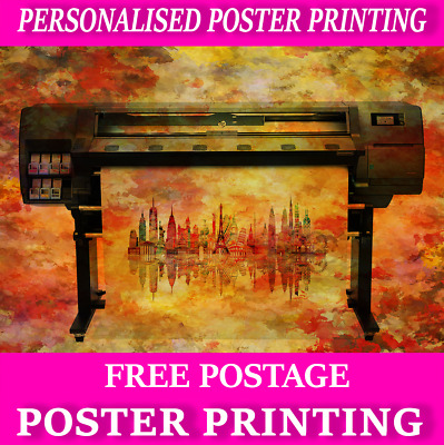 Your Own Personalised Posters Great Quality Free Delivery Printing Service