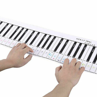 Portable 88 Key Electronic Piano Keyboard Silicon Flexible Roll Up Piano W/Pedal