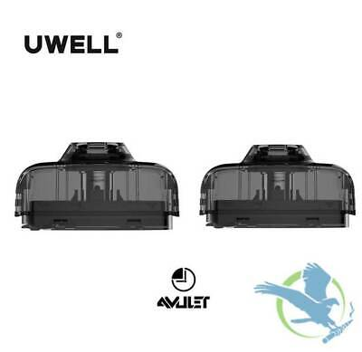 Pods For Uwell Amulet Replacement Pod Amulet Coil Cartridge 1.6 Ohm Pack Of 2