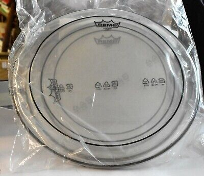 Remo Pinstripe Clear New Fusion Tom Drumhead 3 Pack