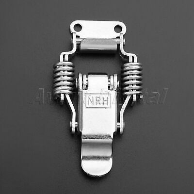 Cabinet Toggle Switch Latch Hasp Case Locking Box Chest Spring Loaded Lock Catch