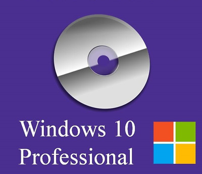 Microsoft MS Windows 10 Professional Pro Prof Aktivierungskey x64 64Bit DVD OEM