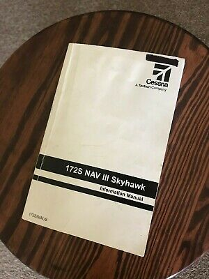 CESSNA 172S NAV III G1000 With GFC700 POH Information Manual