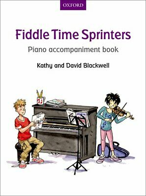 Fiddle Time Sprinters Piano Accompaniment Book  Violin  Fiddle Time  Blackwell,