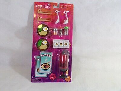 "My Life Doll Ramen Dinner Play Set 18/""Doll,American Girl,Etc~New /& Sealed"