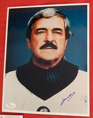 Star Trek TOS Hand Signed  Close Up James Doohan as Scotty Montgomery Scott JSA