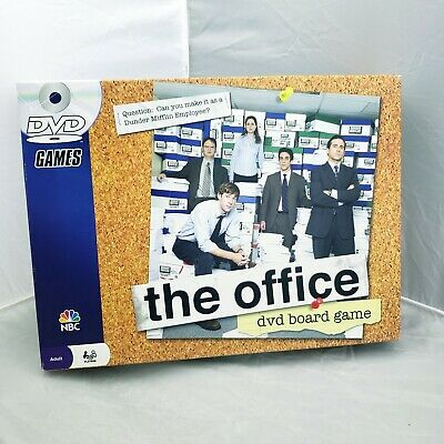 (MISSING DVD) The Office DVD Board Game Dunder Mifflin NBC